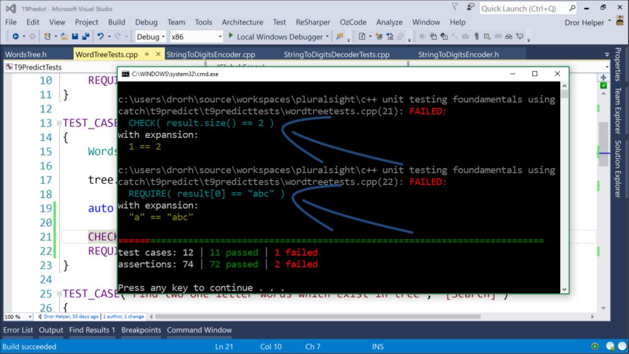 New Pluralsight course: C++ Unit Testing Fundamentals Using